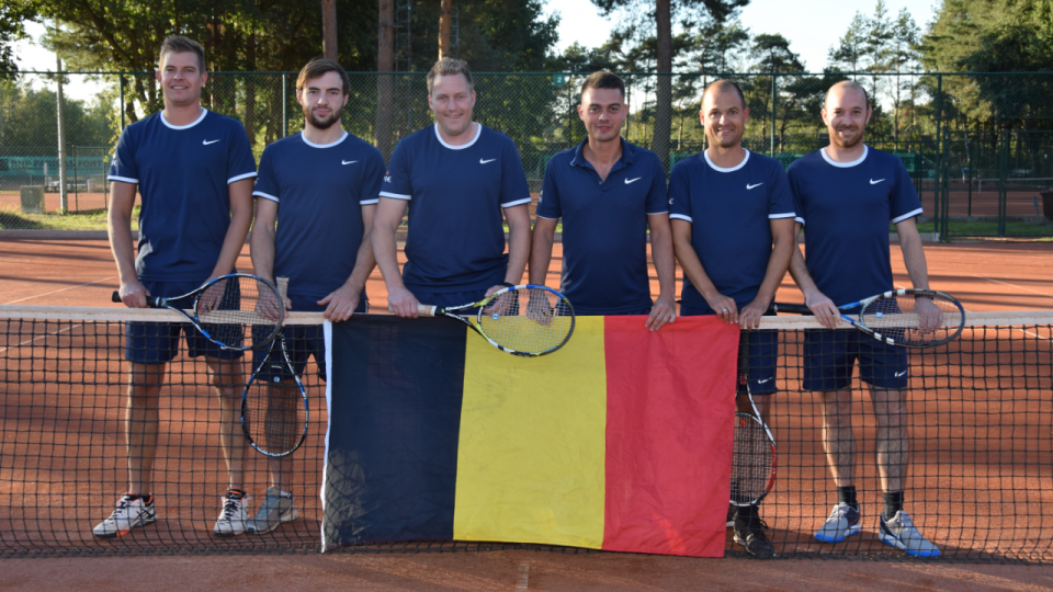 Tennis : Molse mannen verrassend Belgisch Kampioen !