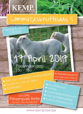 flyer Lammetjes knuffeldag 2017