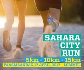 flyer Sahara City Run 2017
