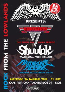 flyer Dutch Heavy Metal in PEIR OAN