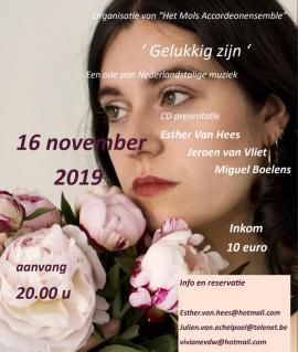 flyer Ester Van Hees