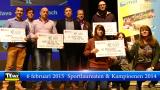 Huldiging sportlaureaten en kampioenen van 2014