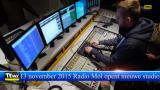 Radio Mol opent nieuwe studio