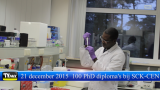 100-ste PhD diploma bij het SCK-CEN
