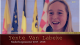 Yente Van Labeke is Kinderburgemeester
