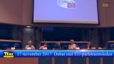 Vlaamse leraren in debat met enkele Europese parlementsleden