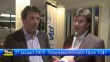 Nieuwjaarsreceptie Open Vld plus met minister Sven Gatz en Hans Schoofs