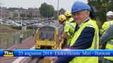 Infrabel start de elektrificatiewerken tussen Mol en Hamont