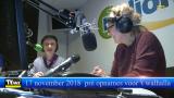 Opnames voor het Walhalla bij Radio Mol