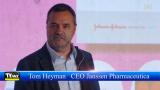 Tom Heyman CEO Janssen Pharmaceutica @ Forum Innovatie Voka KvK Kempen