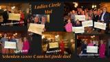 Ladies Circle Mol schenkt 12000 euro aan het goede doel